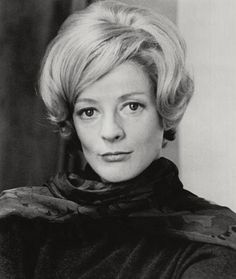 A younger Maggie Smith