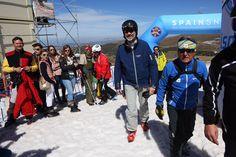 Foro Hispanico de Opiniones sobre la Realeza: Rey Felipe VI presencia una prueba de snowboard en Mundiales de Sierra Nevada