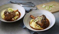 Whole tandoori chicken with coriander chutney recipe - BBC Food Anchovy Recipes, Lamb Shank Recipe, Mint Sauce, Lamb Shanks, Toasted Sesame Seeds, Sunday Roast, Chutney Recipes, Lamb Recipes, Cooking Time