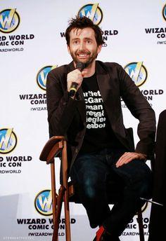 David Tennant at Wizard World Comic Con Raleigh (3/15/15)