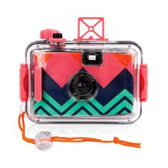 Say cheese! This Sunnylife Underwater Camera will capture all of this summer's hijinks at the beach or poolside on vintage-feel 35mm film.