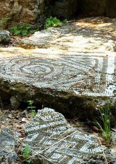 ancient mosaic floor