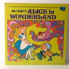 Hey, I found this really awesome Etsy listing at https://www.etsy.com/listing/171173099/alice-in-wonderland-vinyl-walt