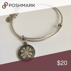 Alex and Ani Four Leaf Clover Bangle Bangle from Alex and Ani collection. Silver. New condition. Retails for $35-$40+. Alex and Ani Jewelry Bracelets