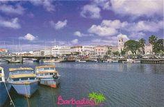 Beautiful Travel Postcard: Barbados