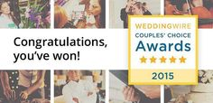My Salon, DonaylleNicole Hair Studio,has won the Wedding Wire Couples' Choice Awards® for 2015, thanks to generous reviews from our wonderful, loyal clients! The Couples' Choice Awards recognizes...