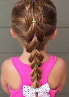Cute Toddler Hairstyles, Easy Little Girl Hairstyles, Cute Curly Hairstyles, Baby Girl Hairstyles, Girl Hair Dos, Volleyball Hairstyles, Crazy Hair Days, Hair Color And Cut, Hair Beauty