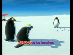Le ragga des Pingouins (some body parts and actions) French Teacher, Teaching French, Penguin Videos, Penguin Dance, French Poems, Cute Songs, French Education, Primary Science, Reading Club