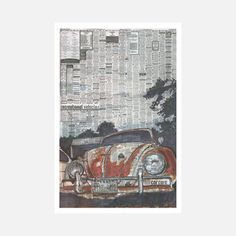 Beetle 1 Poster by Adam Ambro now featured on Fab.