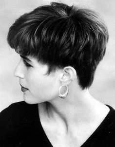 Traditionally Pixie Hair Cuts Back View