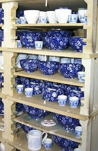 Calico dishware, love these dishes