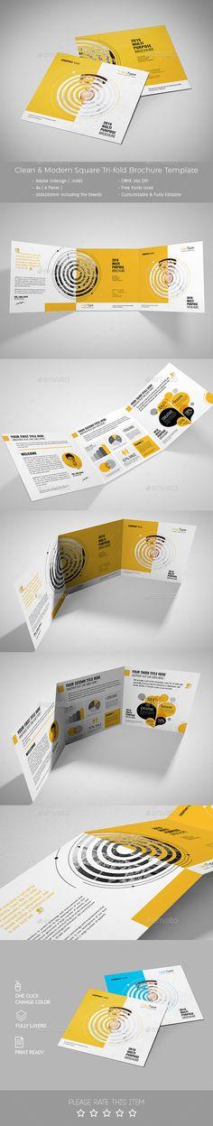 Pro Multipurpose Square Brochure Template #design Download: http://graphicriver.net/item/pro-multipurpose-square-brochure/13098415?ref=ksioks