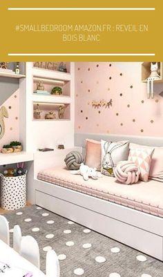 #smallbedroom Amazon.fr: reveil en bois blanc #einrichtungsideen schlafzimmer grau rosa #smallbedroom Amazon.fr: reveil en bois blanc