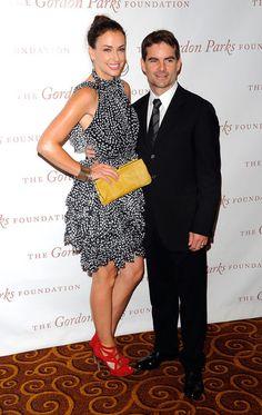 Ingrid Vandebosch & Jeff Gordon