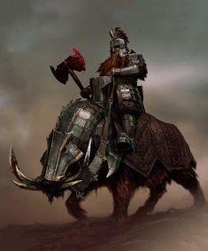 More artwork from The Hobbit Fantasy Races, Fantasy Armor, Medieval Fantasy, Tolkien, Fantasy Character Design, Character Art, Dwarf Paladin, Dnd Dwarf, Fantasy Dwarf