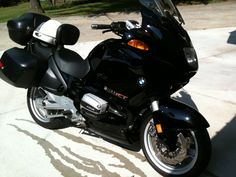 The best way to travel! 1999 BMW R1100RT
