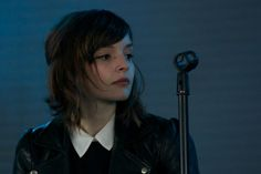 Love Lauren Mayberry's eyeliner