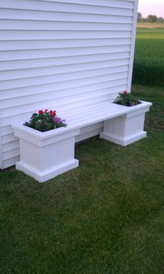 New bench built this weekend!