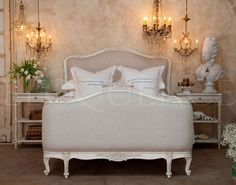 french bed shabby - Cerca con Google