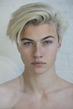 Lucky Blue Smith <3 I could just stare into his eyes for world's end and never get tired of it...just intoxicating
