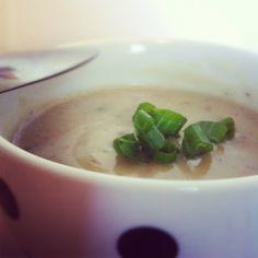 Potato & Garlic Soup.