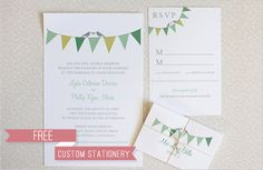 Free Customizable Printables (including stationary, invitations, labels, monograms, etc.) Amazing!