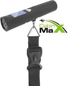 Cabin Max Digital Portable Travel Luggage Scale with built in 8 LED Torch : CE | Best Discount Shopping Websites