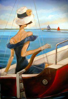 Trish Biddle | Fashion and Art Déco american painter | Tutt'Art@ | Pittura * Scultura * Poesia * Musica |