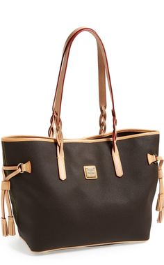 crushing over this Dooney and Bourke tote