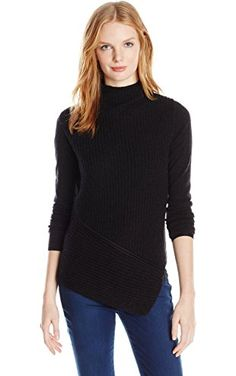 Elie Tahari Women's Vienna Sweater, Charcoal, X-Small ❤ ELIE TAHARI Womens Collection Child Code