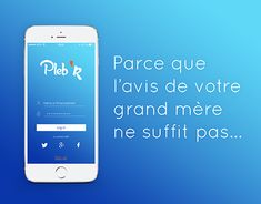 "Check out new work on my @Behance portfolio: ""[UI/UX DESIGN] Pleb'R Prototype: Mobile application"" http://be.net/gallery/61808269/UIUX-DESIGN-PlebR-Prototype-Mobile-application"