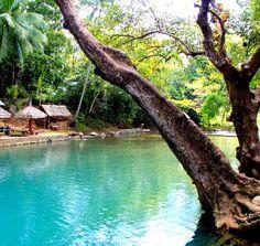 Spring waters near Pandan, Panay Island - Philippines