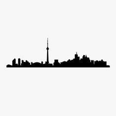 Toronto Skyline Decal