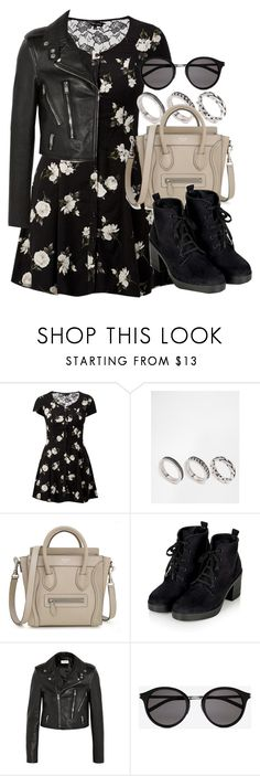 """Style #10190"" by vany-alvarado ❤ liked on Polyvore featuring ASOS, Topshop and Yves Saint Laurent"