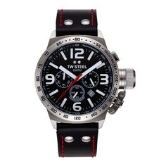 T.W. Steel Gents Stainless Steel Black Dial Men's Watch - TWS TW11 - http://www.specialdaysgift.com/t-w-steel-gents-stainless-steel-black-dial-mens-watch-tws-tw11/