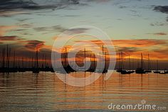 Sunset Colonia Del Sacramento - Download From Over 28 Million High Quality Stock Photos, Images, Vectors. Sign up for FREE today. Image: 48434321