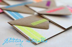 Glitter cards!