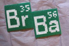 Breaking Bad Coasters Hama perler beads by Keely Jade
