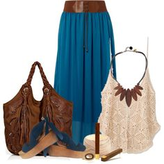 Woodstock Chic by lilpudget on Polyvore