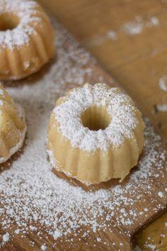 Coconut Tres Leche Mini Bundt Cakes
