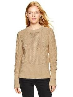 Cable knit sweater GAP #EastwoodPinPals