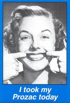 Sorridi....  Depressione e psicofarmaci su   http://www.psicologo-milano.it/articoli-psicologici/altre-problematiche/298-depressione-psicofarmaci.html