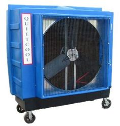 how to clean filter on evaporative cooler