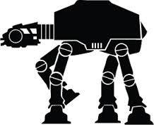 Star Wars Wall Art - Tatertots and Jello Star Wars Silhouette, Silhouette Images, Star Wars Pictures, Star Wars Images, Star Wars Vector, Star Wars Font, Star Wars Stencil, Stencil Art, Star Wars Zeichnungen