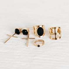 Gold & Onyx Jewels. By Ford & Harris