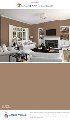 Mocha Paint Colors mocha paint color sw 6067sherwin-williams. view interior and