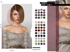 Aubree Hair Found in TSR Category 'Female Sims 3 Hairstyles' Sims 4 Game Mods, Sims 4 Mods, Sims 4 Seasons, Sims 4 Black Hair, Sims 4 Bedroom, Sims 4 Gameplay, Sims Hair, Sims Community, Sims 4 Clothing