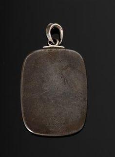 Arno Malinowski pendant ( verso)  www.lauritz.com
