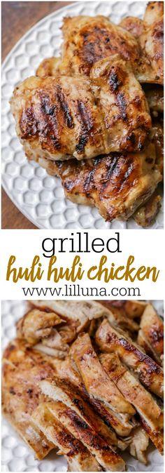 Grilled Huli Huli Ch