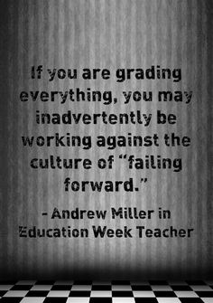 """Paired with equitable grade practices, engaging and authentic work can create a culture where students long to """"fail forward"""" towards success. Read more via Education Week Teacher."""